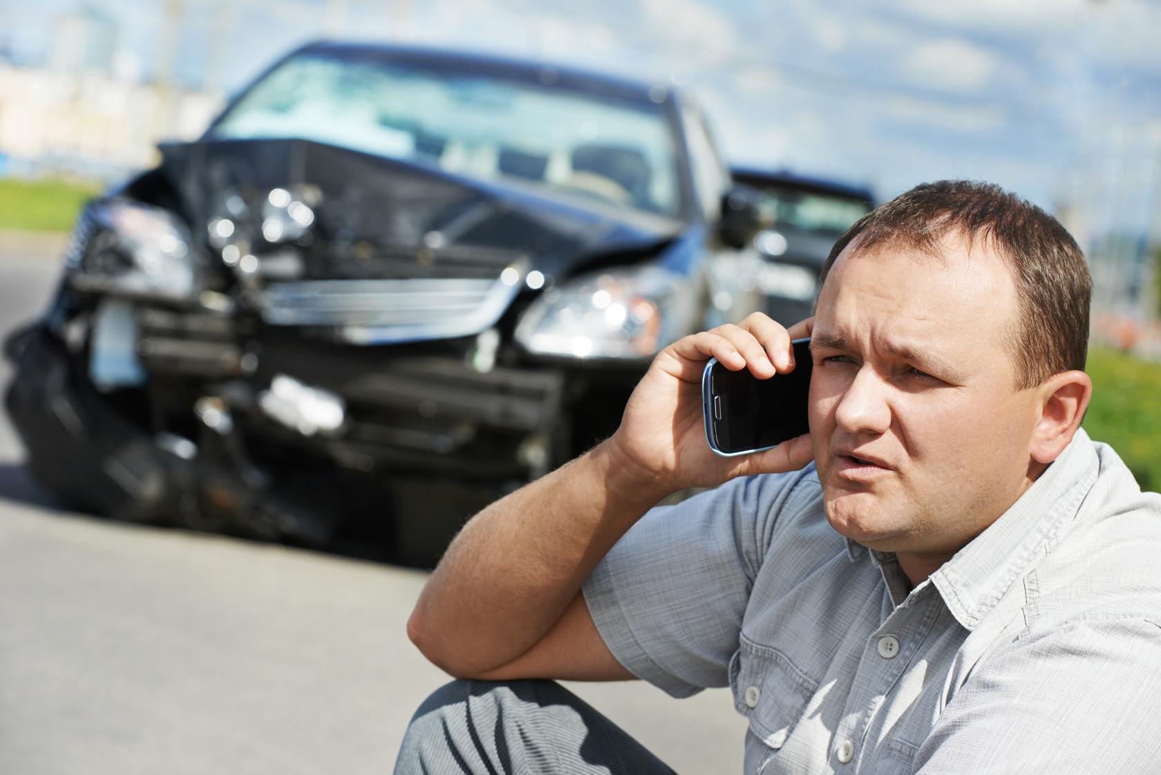 מה עליי לעשות במקרה של תאונה?