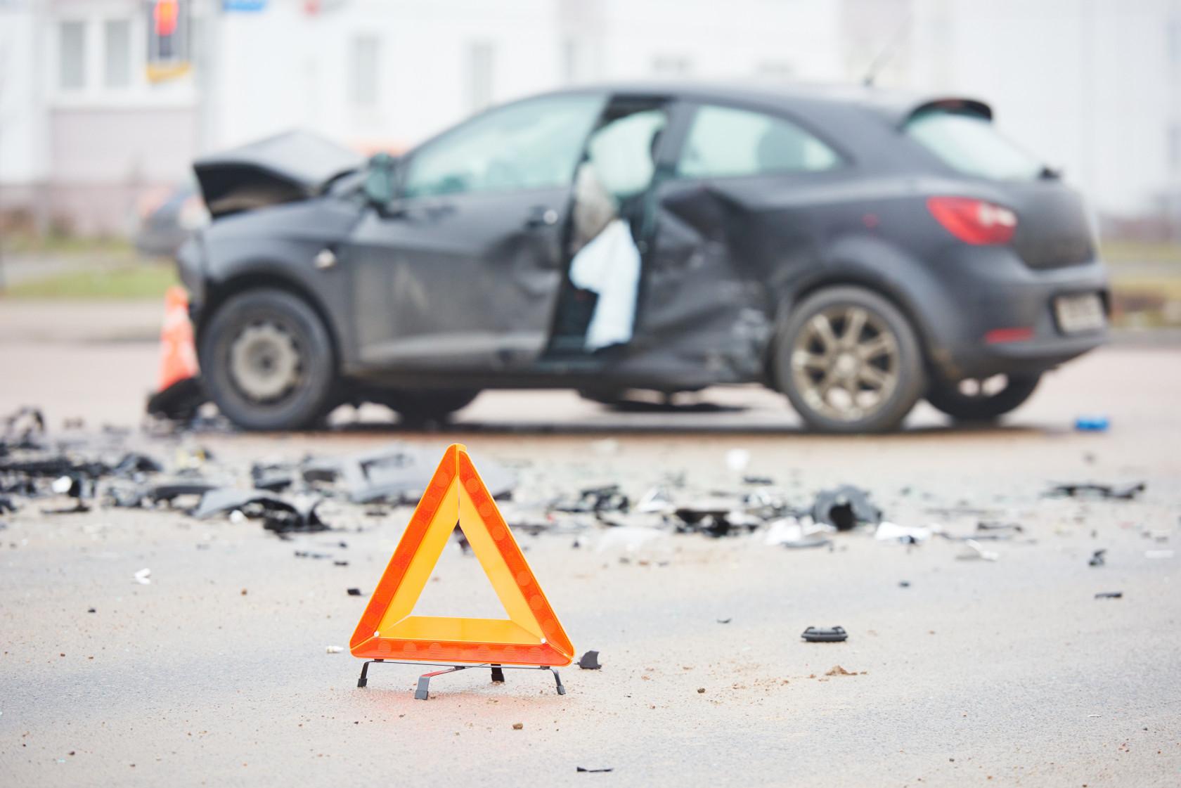 כיצד לפעול בעת תאונת דרכים